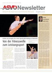 aktuellen Ausgabe 4/2012(PDF - ASVÖ