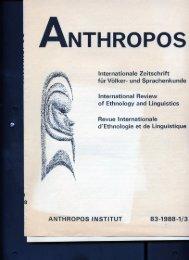 Page 1 ANTHROPOS Internationale Zeitschrift ' ' für Völker- und ...