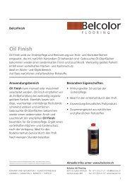 Oil Finish - Rent-a-Shop