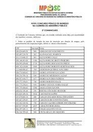 Florianópolis, 00 de junho de 1997 - Ministério Público de Santa ...