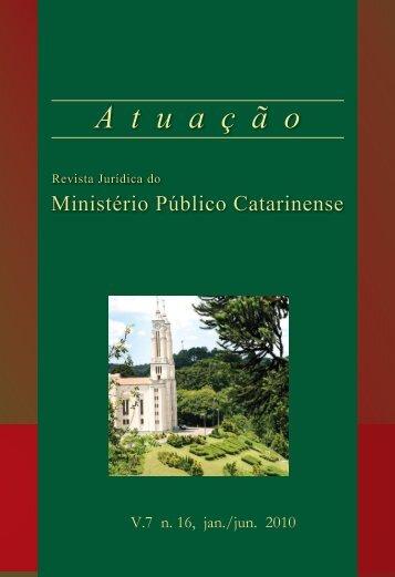 Versao em Pdf (3,14 mb) - Ministério Público de Santa Catarina