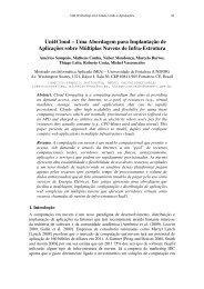 Uni4Cloud – Uma Abordagem para Implantação de ... - SBRC 2010