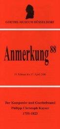 PDF-Download Anmerkung 88 - Goethe-Museum-Düsseldorf