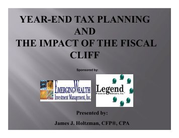 Download Webcast Slides - Legend Financial Advisors, Inc.