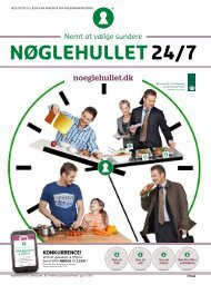 Nøglehulsavisen 2012 - Nøglehullet 24/7 - noeglehullet.dk