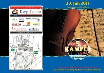 23. Juli 2011 - Kamp-Lintfort