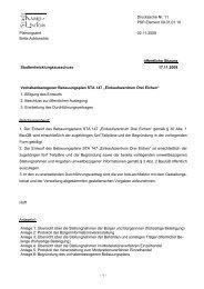 Vorhabenbezogener Bebauungsplan STA 147 - Kamp-Lintfort