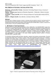 MULTIMEDIA IN TEACHING: AN EVALUATION TOOL Abstract 1 ...