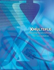 Electronic Xmultiple 2013 Brochure