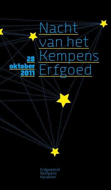 brochure - Erfgoedcel Kempens Karakter