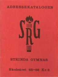 elever ved srg 1965 - Strinda historielag