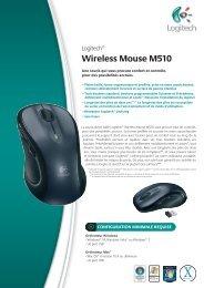 Logitech® Wireless Mouse M510 - Ais-info.fr