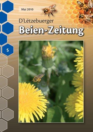 BZ 2010-05.pdf - Luxemburger Landesverband für Bienenzucht