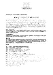 IT-Verträge für Software ... - Kanzlei Dr. Erben