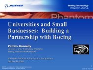 Universities and Small Businesses: Building a Partnership with ...