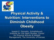 [PDF] Physical Activity & Nutrition: Interventions to Diminish ...