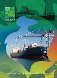 2000-2010: The Green Port Era - Long Beach Business Journal