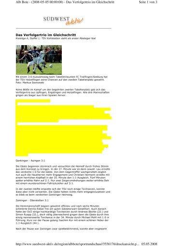 Seite 1 von 3 Alb Bote - (2008-05-05 00:00:00) - Das Verfolgertrio im ...