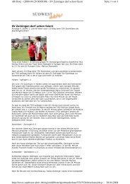 Seite 1 von 3 Alb Bote - (2008-04-28 00:00:00) - SV Zainingen darf ...