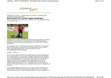 Seite 1 von 4 Alb Bote - (2007-10-04 00:00:00) - Bernd Ruoff mit ...