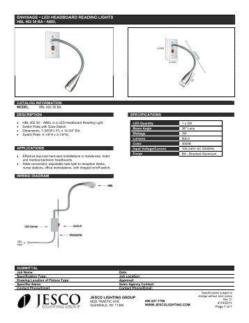led flexible linear u2022 dl flex up static series jesco lighting rh yumpu com LED Light Fixture Wiring Diagram LED Light Fixture Wiring Diagram