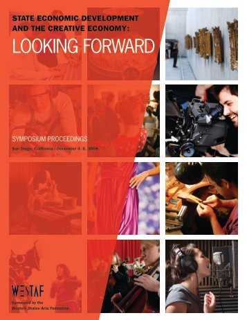 LOOKING FORWARD - The Western States Arts Federation
