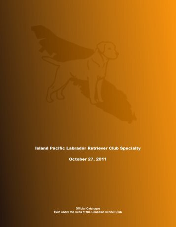 results - BC Dog Show Services