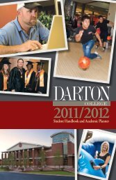 2011-2012 Student Handbook - Darton College