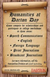Humanities Day - October 15, 2011 - Darton College