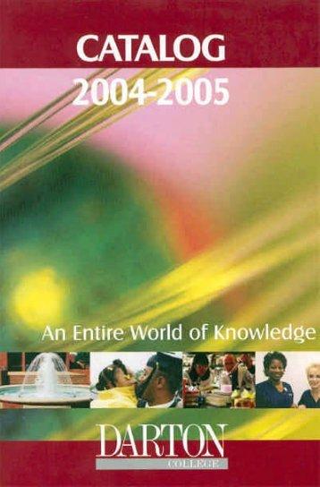 Darton College Catalog - 2004-2005