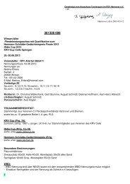 Ausschreibung - Reit- und Fahrverein Allertal eV
