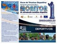 Técnico Deportivo Nivel-1 - Federación de Salvamento y ...