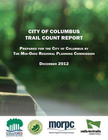 city of columbus trail count report - Mid-Ohio Regional Planning ...