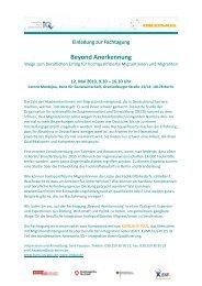 Anmeldeformular und Programm - KUMULUS-PLUS