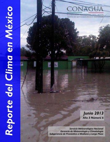 Junio - Servicio Meteorológico Nacional. México.