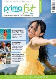 Primafit Ausgabe April 2009 - primafit.ch