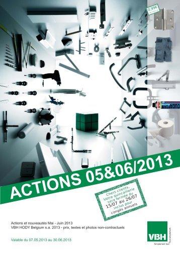 ACTIONS 05&06/2013 - VBH - Hody