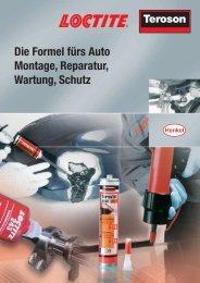 Die Formel fürs Auto Montage, Reparatur, Wartung, Schutz