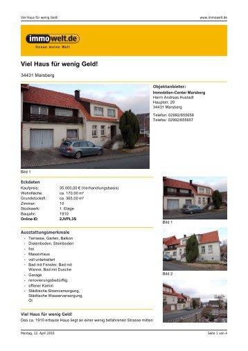 Expose C11 - Immobilien-Center Marsberg