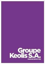 FINANCIAL REPORT 2012 - Keolis