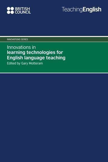 Innovations in learning technologies for English ... - EnglishAgenda