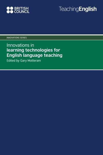 Innovations in learning technologies for English ... - EnglishAgenda