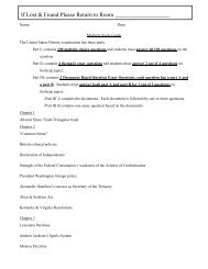 Midterm Review Sheet