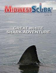 great white shark adventure - Midwest Scuba Diving Magazine