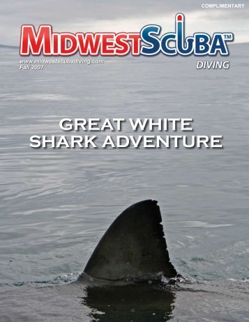 great white shark adventure - Midwest Scuba Diving Magazine