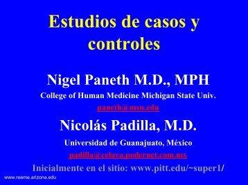 Estudio Caso-Control - Reeme.arizona.edu