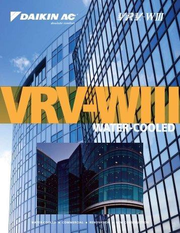 VRV-WIII - Brochure - PCVWUSE11-03C - Daikin AC