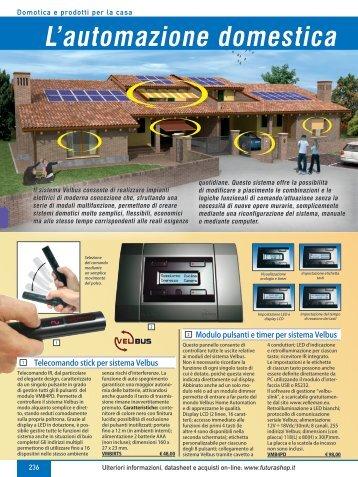Domotica e prodotti per la casa - Futura Elettronica