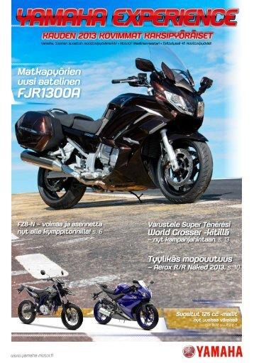 Klikkaa tästä julkaisuun - Yamaha Motor Europe