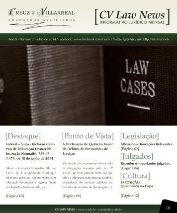 CV Law News - julho_2014